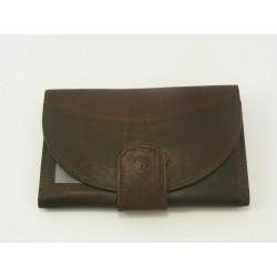 Dámska peňaženka kožena tmavohneda VGALANA2490