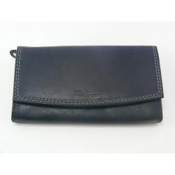 Dámska peňaženka kožená čierna VGALANA2730