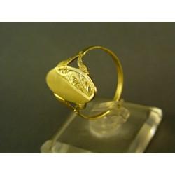 Zlatý prsteň žlté zlato DP58240Z