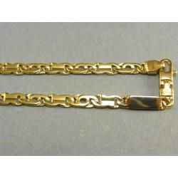 Zlatá retiazka vzorovaná žlté zlato VR552478