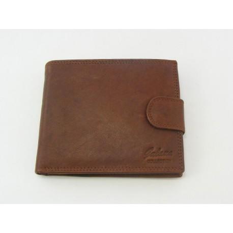 8e0ddf568 Pánska peňaženka GALANA kožená hneda farba V012A2