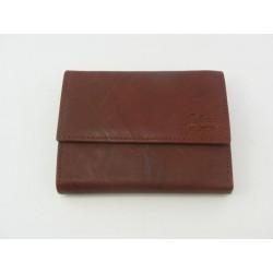 Dámska peňaženka GALANA kožená hneda farba V027A