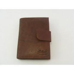 Dámska peňaženka GALANA kožená hneda farba V006A2