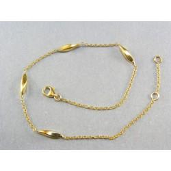 Zlatá retiazka na nohu dámska VN265267