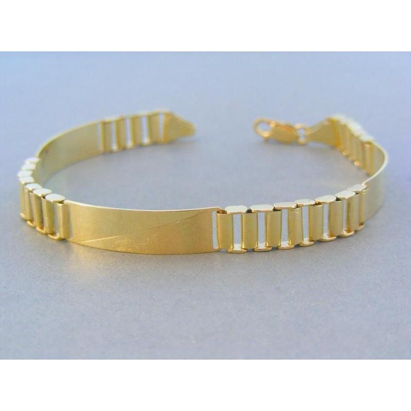 822c5136a Zlatý náramok zo žltého zlata luxusný VN211495Z. Loading zoom