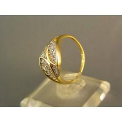 Zlatý prsteň zo žltého zlata VP54243Z
