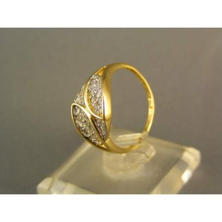 Zlatý prsteň žlté zlato