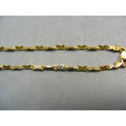 Zlatá retiazka žlte zlato platničky VR445650/1