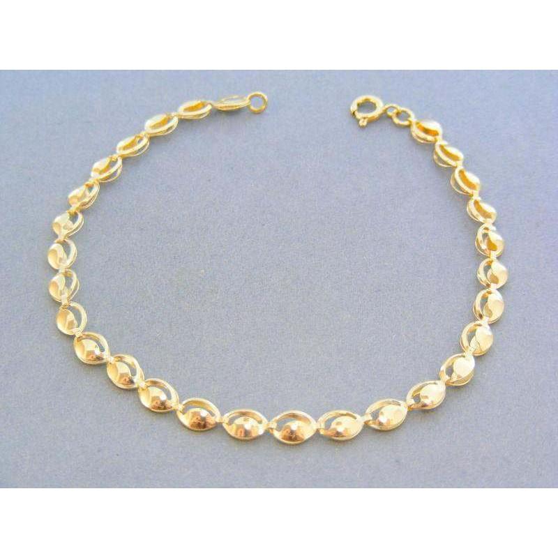 33fec2219 Elegantný zlatý dámsky náramok žlté zlato DN21384Z. Loading zoom