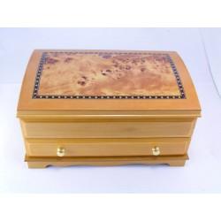 Dámska drevená šperkovnica D496