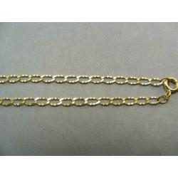Zlatá retiazka žlté zlato očká DR42400