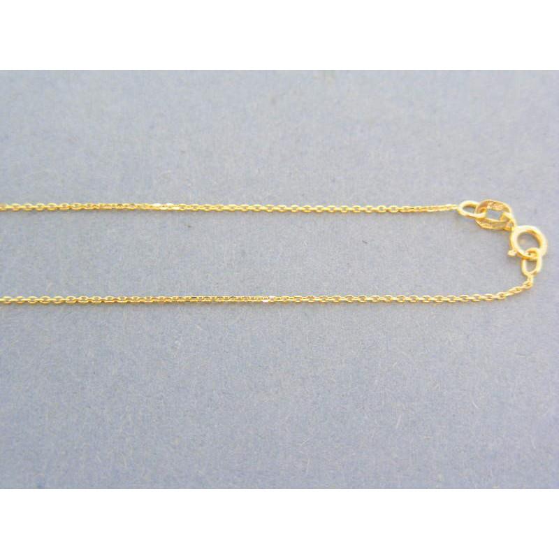 c895c2cbb Zlatá retiazka žlté zlato jemný ručný vzor DR42084Z. Loading zoom