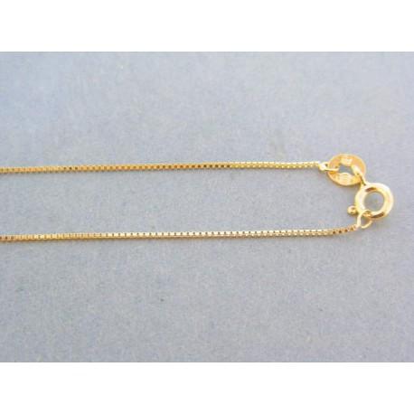 d9f2f893f Zlatá retiazka dámska žlté zlato jemná DR45136Z