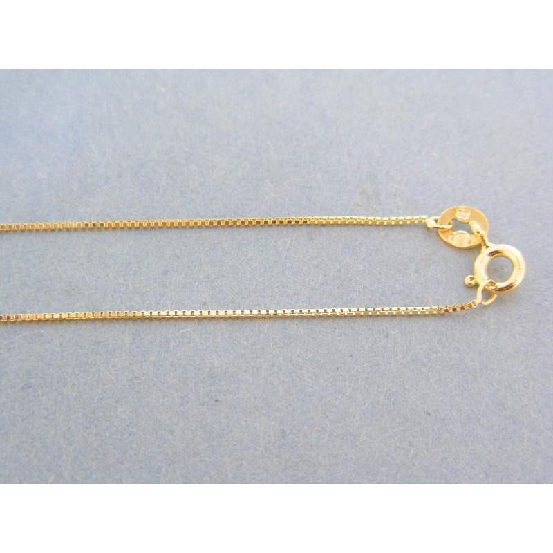 03099c03e Zlatá retiazka dámska žlté zlato jemná DR45136Z. Loading zoom