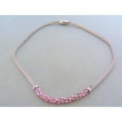 Dámsky náhrdelnik ch. oceľ krištáľ swarovského DRO4852102