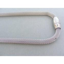 Dámska retiazka náhrdelnik ch. oceľ swarovskí DRO483330