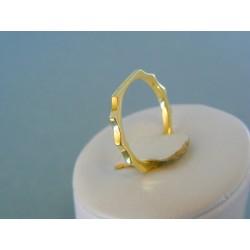 Zlatý prsteň ruženec žlté zlato DP55221Z