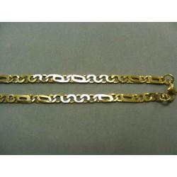 Zlatá retiazka vzor dolárovka žlté zlato DR50980