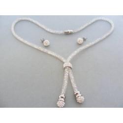 Súprava náhrdelnik náušnice ch. oceľ VSO502512 316L 25.12g
