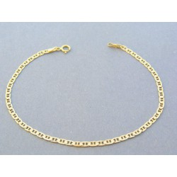 44ce05f52 Zlatý náramok oválne očká predelené žlté zlato DN185193Z 14 karátov  585/1000 1.93g