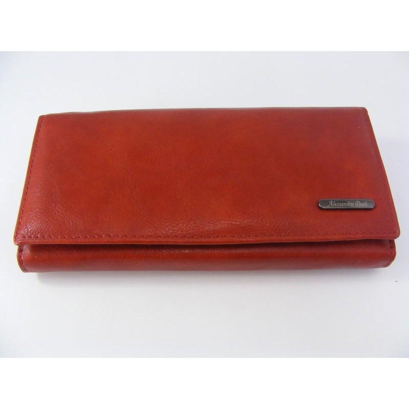 Dámska kožená peňaženka D0601Rosso a18abc9928a