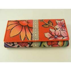 Dámska peňaženka jarný motýv V16-01Rosso