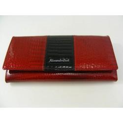 Dámska kožená peňaženka D07-12Rosso