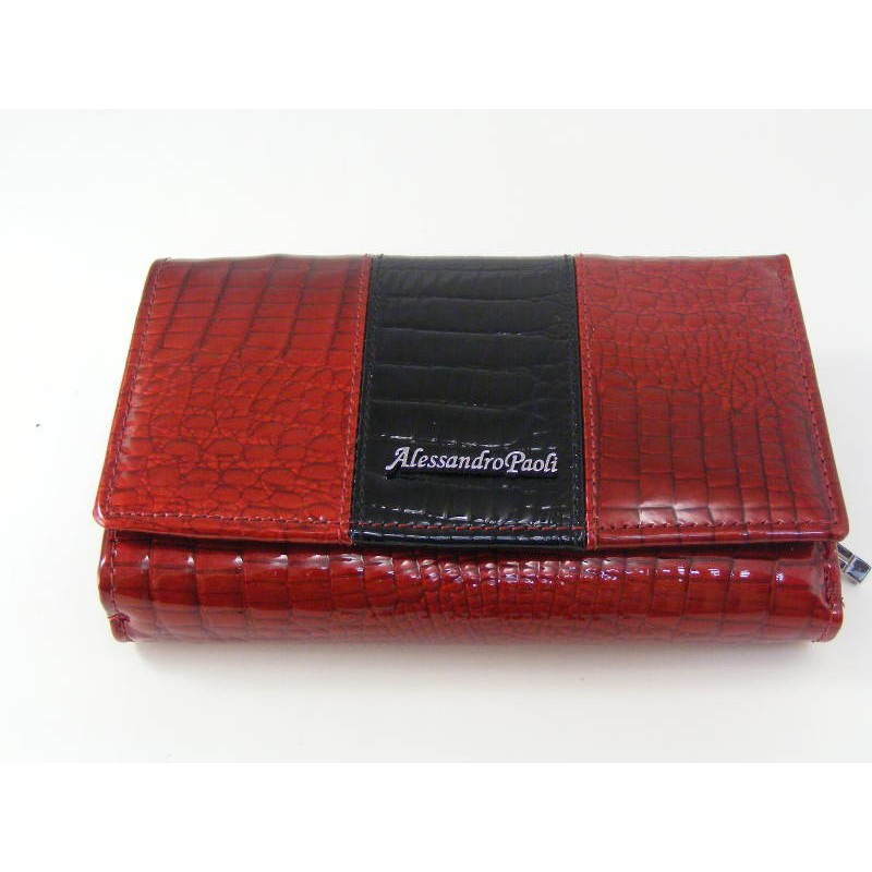 Dámska kožená peňaženka červená farba D04-12Rosso b7296a1c42e