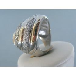 Dámsky prsteň ch. oceľ posiaty kamienkami VPO571566 316L 15.66g