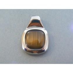 Ch. oceľ prívesok kameň DIO1056 316L 10.56g