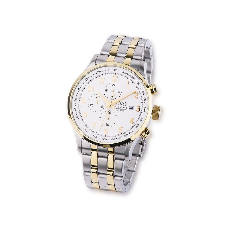 b9bb45a8e4d Náramkové hodinky JVD Steel JA750.2