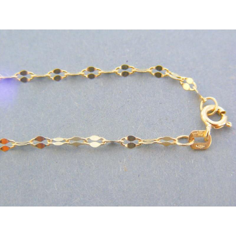 d66b977c4 Zlatá dámska retiazka žlté zlato zdobená DR455192Z 14 karátov 585/1000  1.92g. Loading zoom
