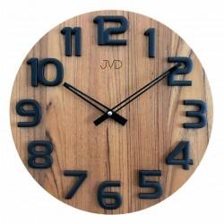 Nástenné hodiny drevené JVD HT97.1