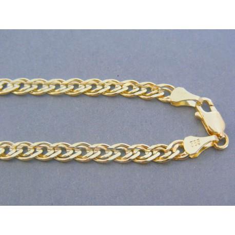 Zlatá retiazka žlté zlato zaujímave očká DR6051975Z 14 karátov 585/1000 19.75g