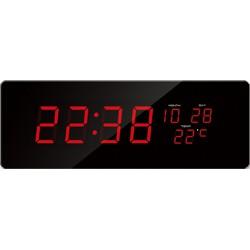 Digitálné hodiny JVD červené čísla DH2.2