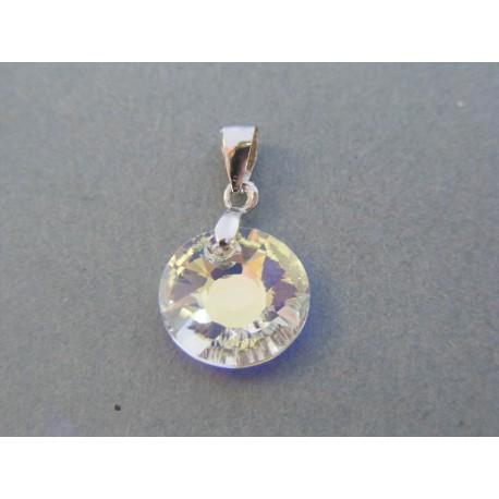 Strieborný dámsky prívesok kameň swarovského VIS092 925/1000 0.92g