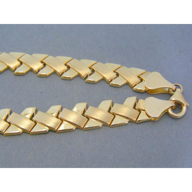 e9b9eb689 Zlatá dámska retiazka náhrdelnik žlté zlato DR481950Z 14 karátov 585/1000  19.50g. Loading zoom