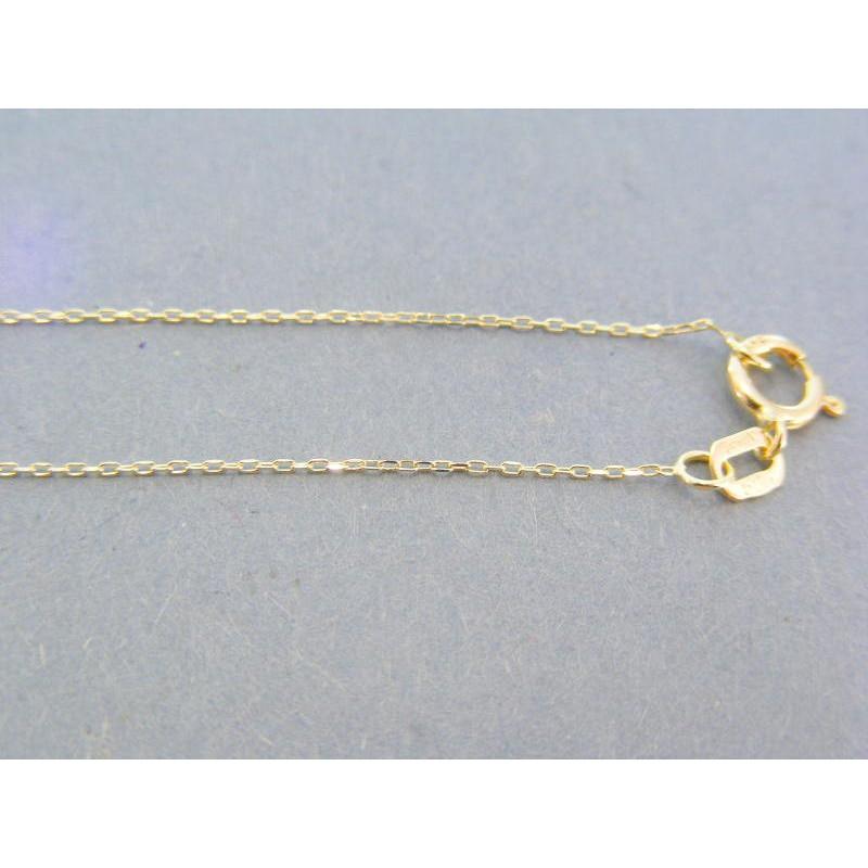 6870b4cf1 Zlatá retiazka žlté zlato ručný vzor VR42069Z 14 karátov 585/1000 0.69g.  Loading zoom