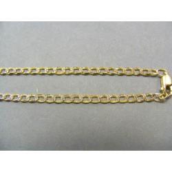 Zlatá retiazka vzor tenký pancier VR45728