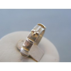 Strieborný prsteň ruženec VPS55364 925/1000 3.64g