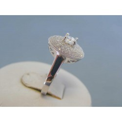 Strieborný dámsky prsteň zirkóny DPS52348 925/1000 3.48g