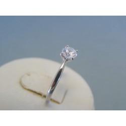 Strieborný dámsky prsteň zirkón DPS56098 925/1000 0.98g