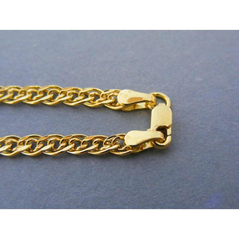 ea4135f53 Zlatá pánska retiazka vzorovaná žlté zlato DR55528Z 14 karátov 585/1000  5,28g. Loading zoom