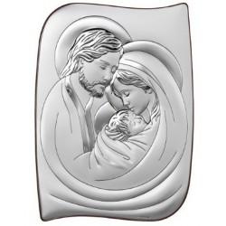 Strieborný obraz svätá rodina VO6466/5