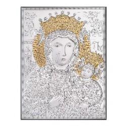 Strieborný obraz Panna Mária Ježiško pozlatený VO180453LFE