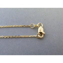 Zlatá retiazka ručný vzor DR49265Z 14 karátov 585/1000 2,65g