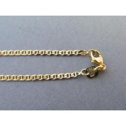 Zlatá retiazka vzor valentína žlté zlato DR65525Z 585/1000 5,25g