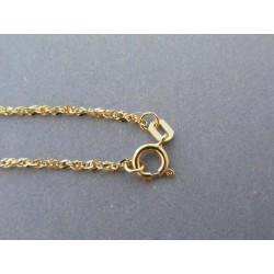 Zlatý dámsky náramok vzorovaný DN17085Z 14 karátov 585/1000 0,85g