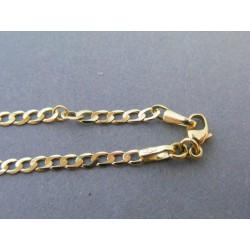 Zlatý náramok vzor pancier DN26257Z 14 karátov 585/1000 2,57g