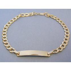 Zlatý náramok vzor pancier DN21425Z 14 karátov 585/1000 4,25g